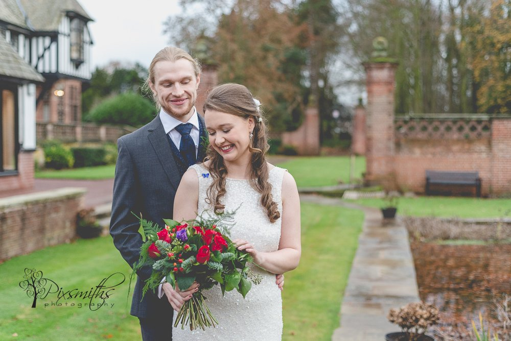 Festive Winter Inglewood Manor Wedding