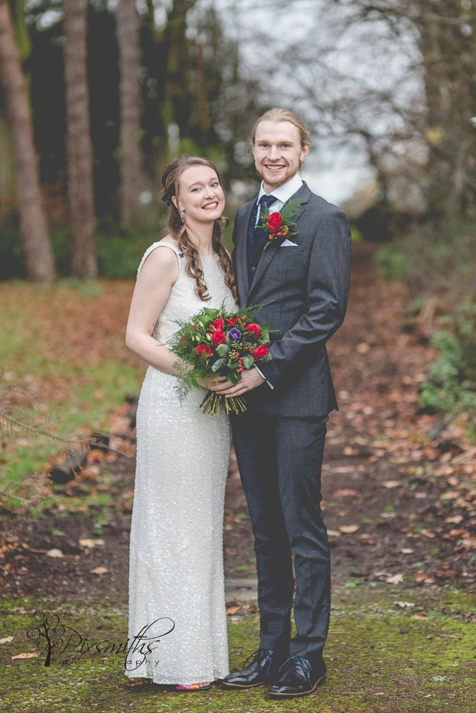 beautiful portrait festive Inglewood MAnor Wedding