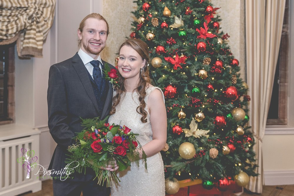 Christmas wedding Inglewood Manor