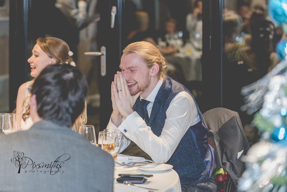 reaction to speeches Inglewood Manor wedding reception