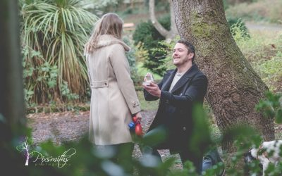 New Years Day Surprise Proposal
