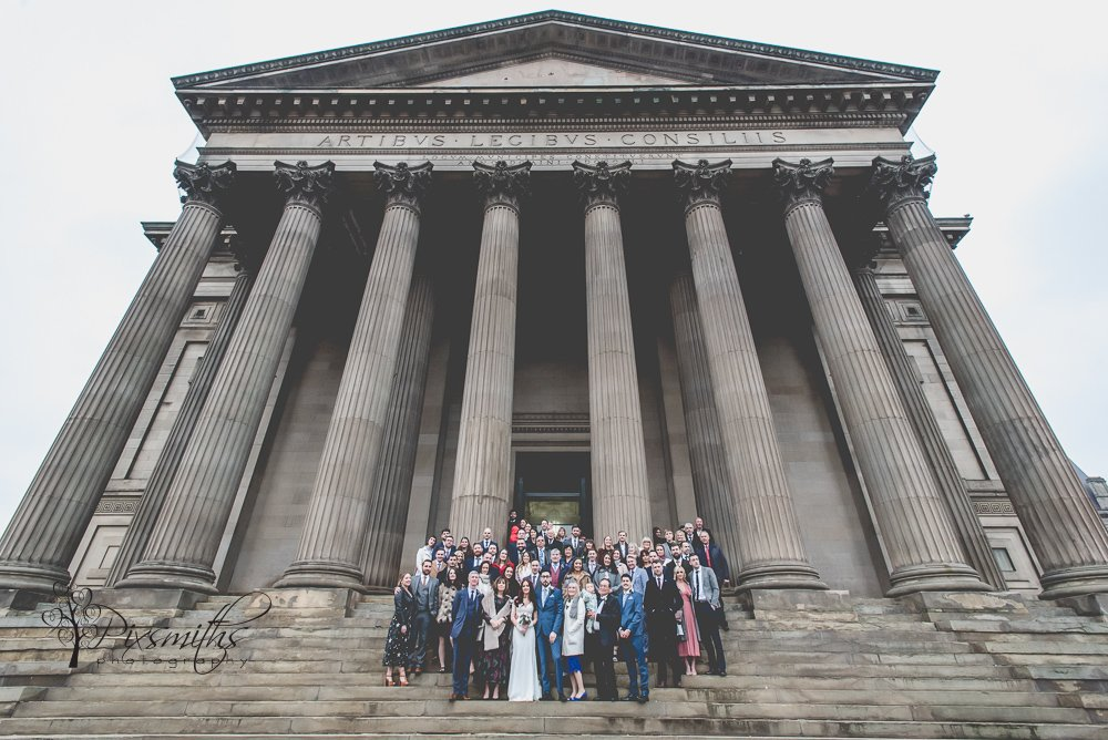 group shot St Georges Hall Liverpool