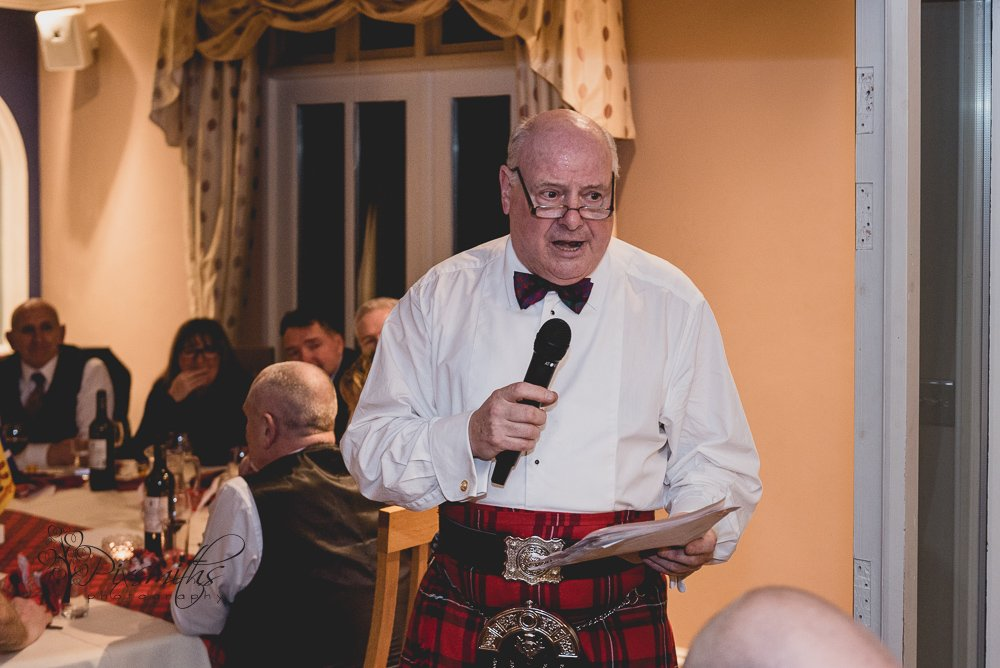 toast to the laddies Burns Night event