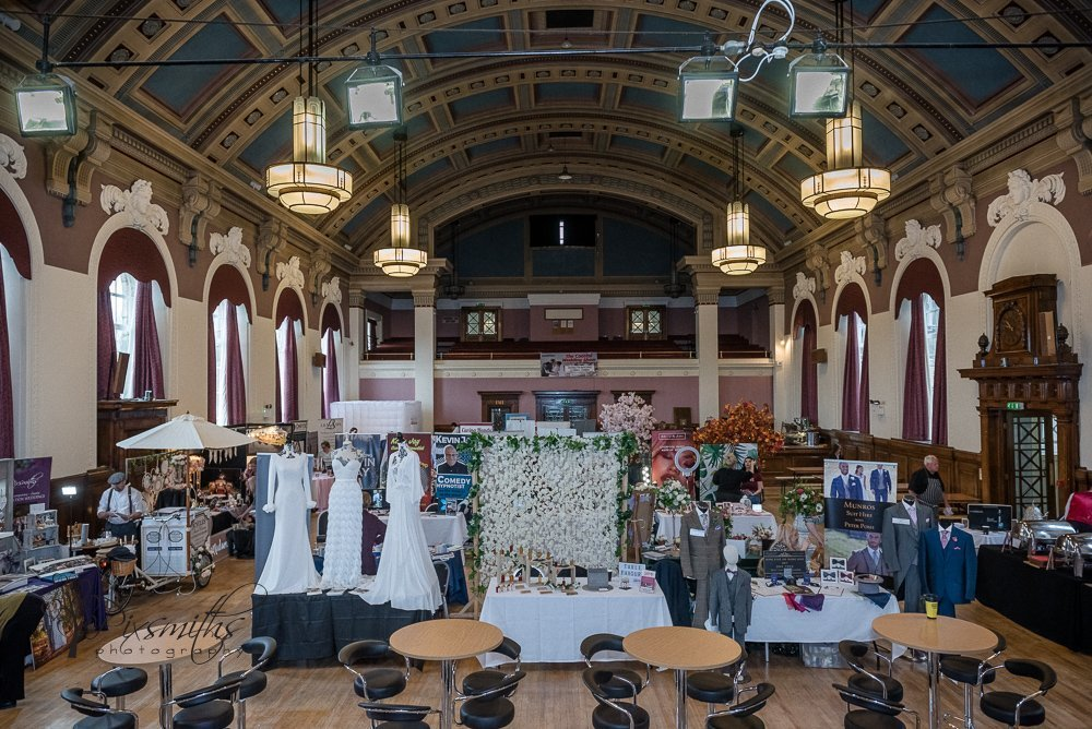 Wallasey Town Hall Red Event Wedding Fayre