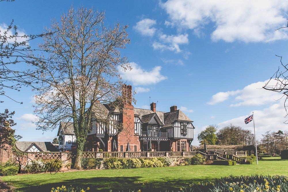 Inglewood Manor springtime exterior view