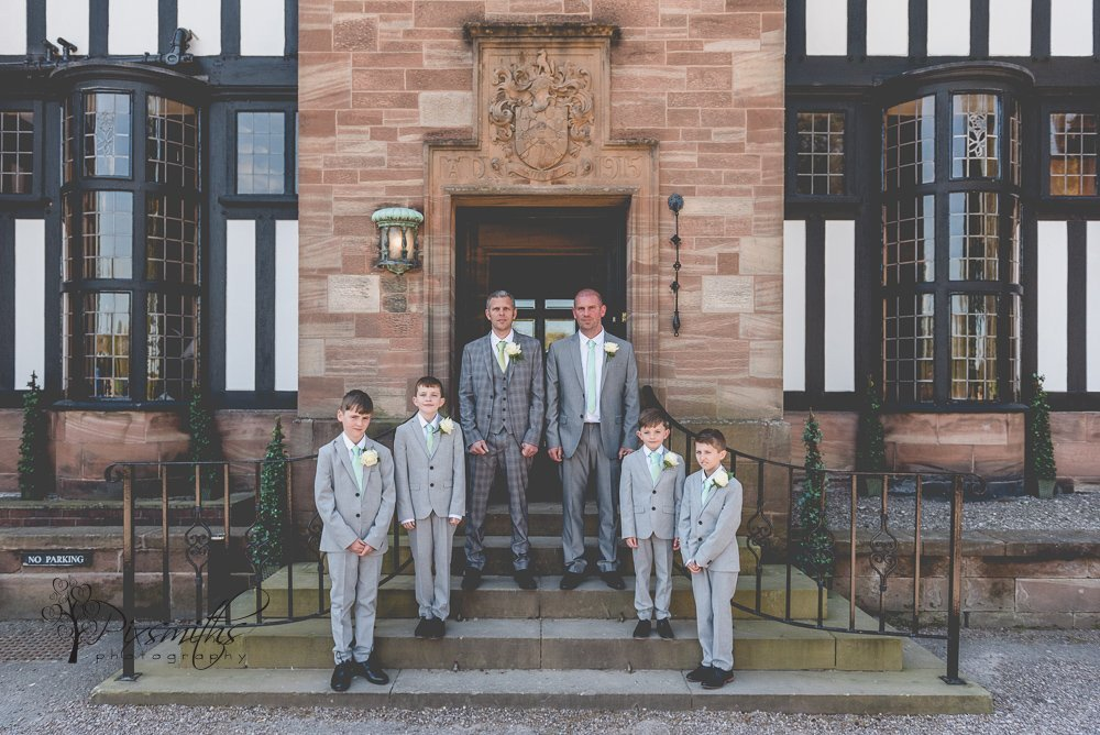 groomsmen ready for Inglewood Manor wedding