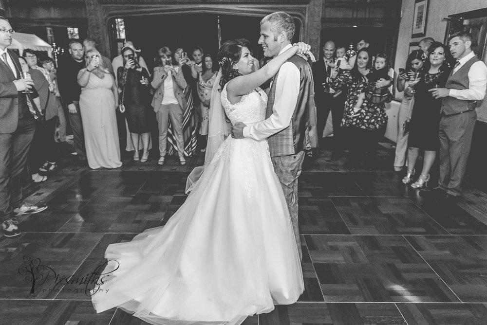 First dance Inglewood MAnor wedding photography