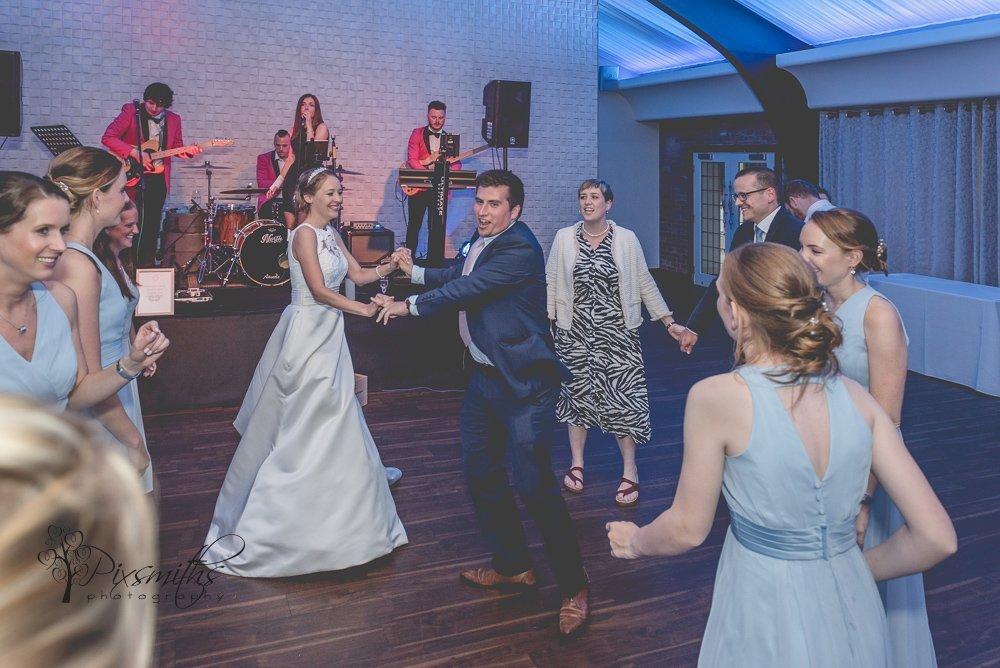 Colshaw HAll wedding evening dancing