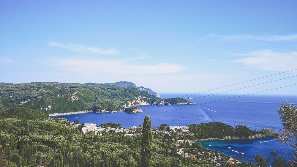 view of Paleokastritsa