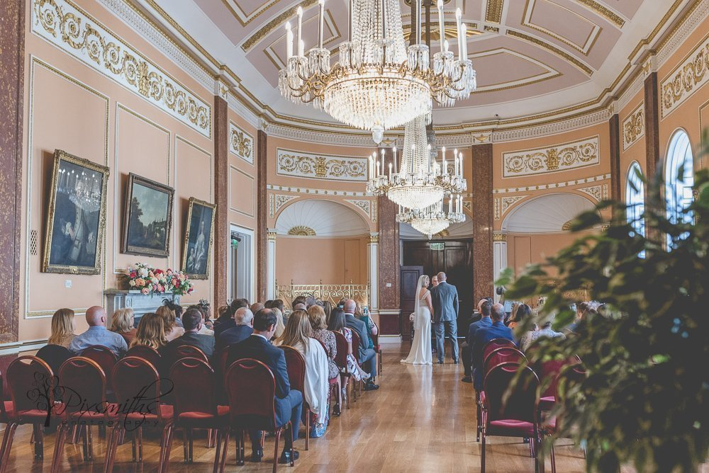 wedding ceremony small ballroom, Liverpool Town Hall