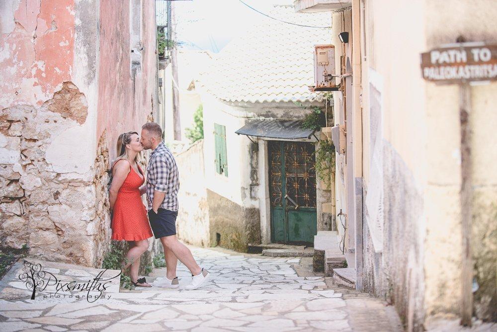 Lakones Village Corfu Pre Wed Shoot