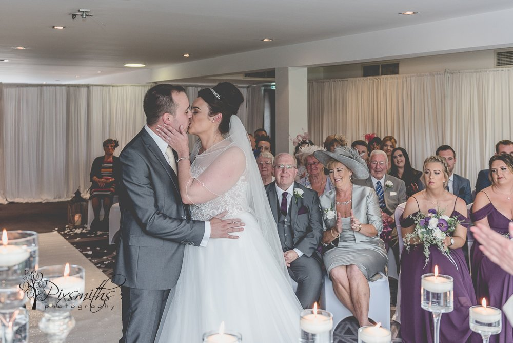 Formby Hall Golf Resort wedding ceremony