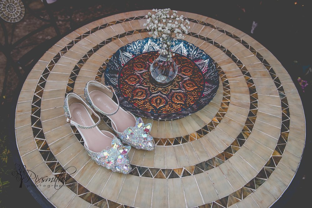 sparkly crystal queen shoes
