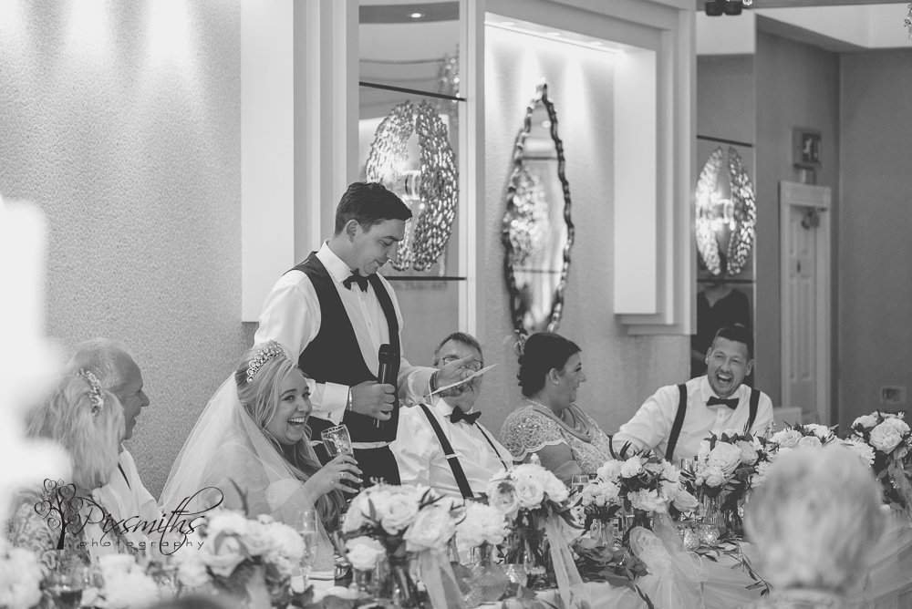 speeches Cristal Suite Thornton hall