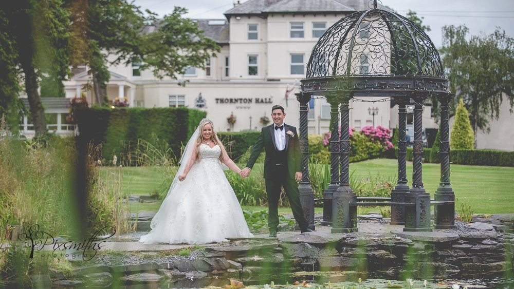 Cristal Thonton Hall wedding