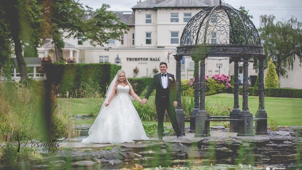 Cristal Thonton Hall wedding
