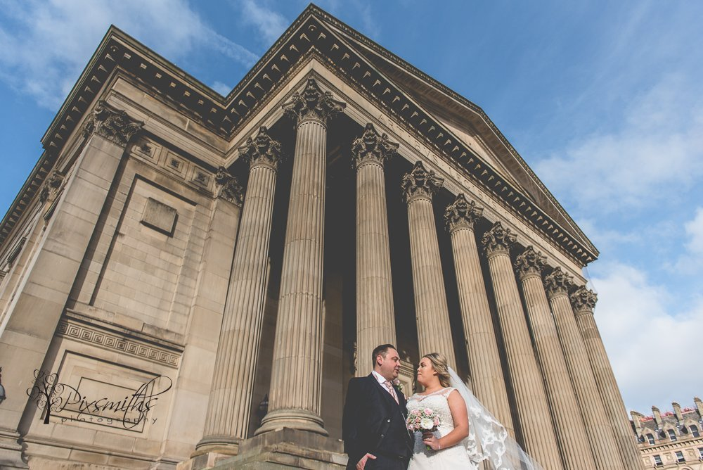 Liverpool wedding St Georges Hall