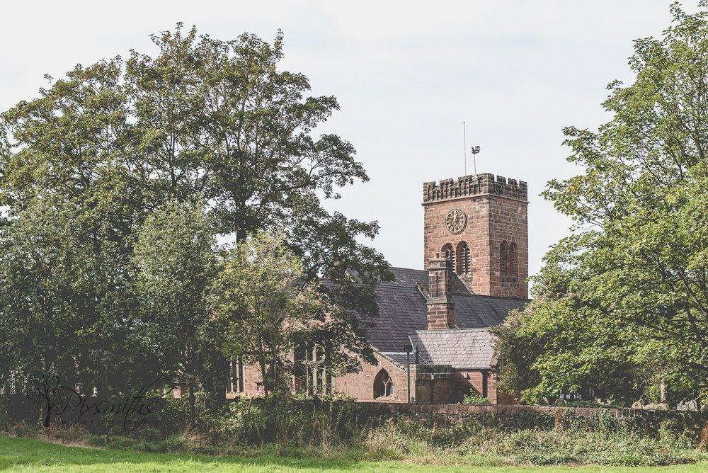 St Bridget's church West Kirby