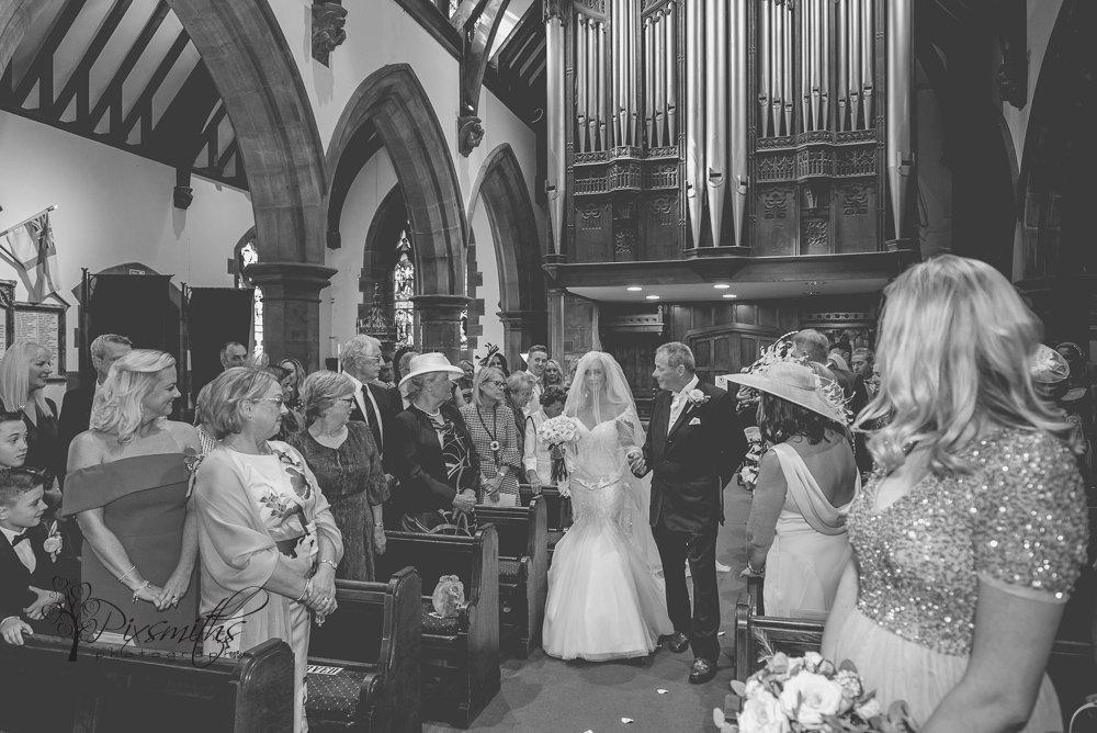 Bride entrance St Bridget's West Kirby