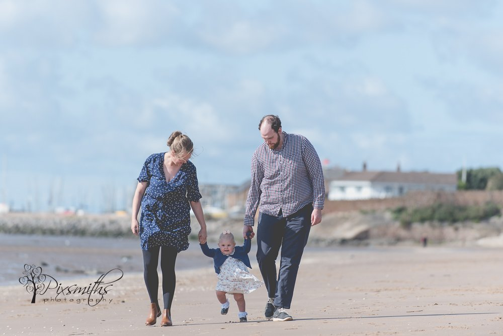 Caldy beach Family shoot