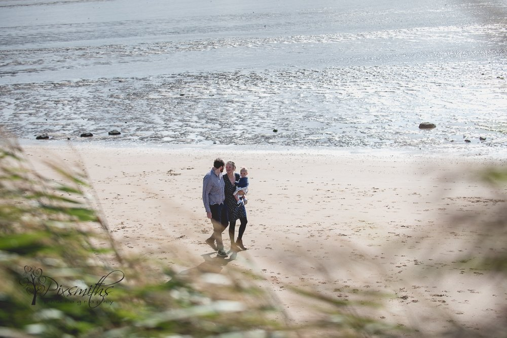 Caldy Beach: Family Shoot Surprise