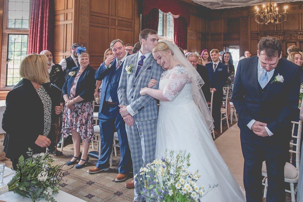 beautiful emotions during Inglewood Manor wedding