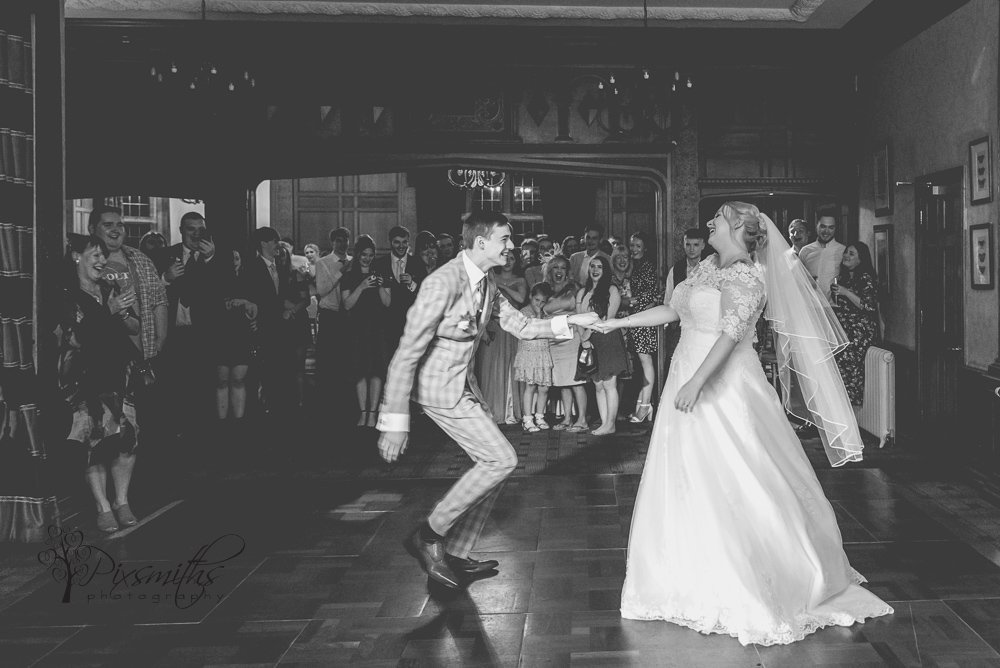 First dance stunning Inglewood Manor wedding