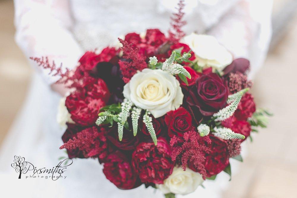 bridal bouquet Leaf heswall