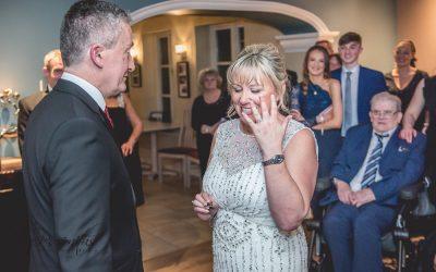 Surprise Mere Brook House Wedding