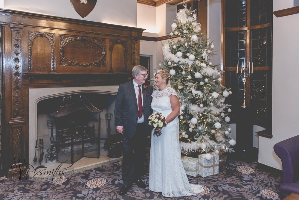 Christmas Inglewood Manor Wedding
