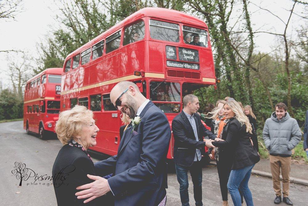 not even mum was in on teh Surprise Claremont Farm wedding plans