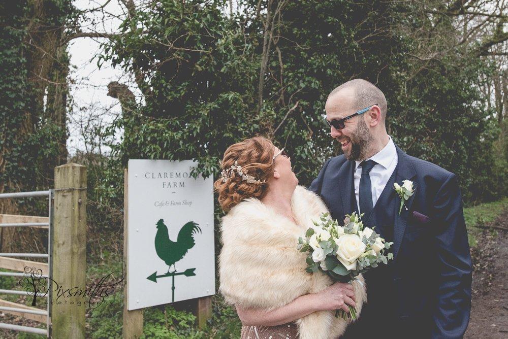 Claremont Farm wedding photography
