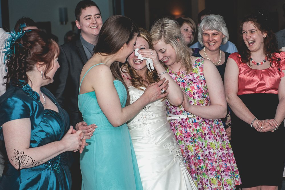 tears of joy real Wirral wedding stories