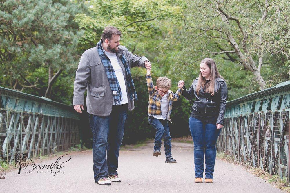 family shoot Bidston Hill