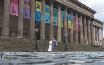 Liverpool Registrar Wedding St Georges Hall