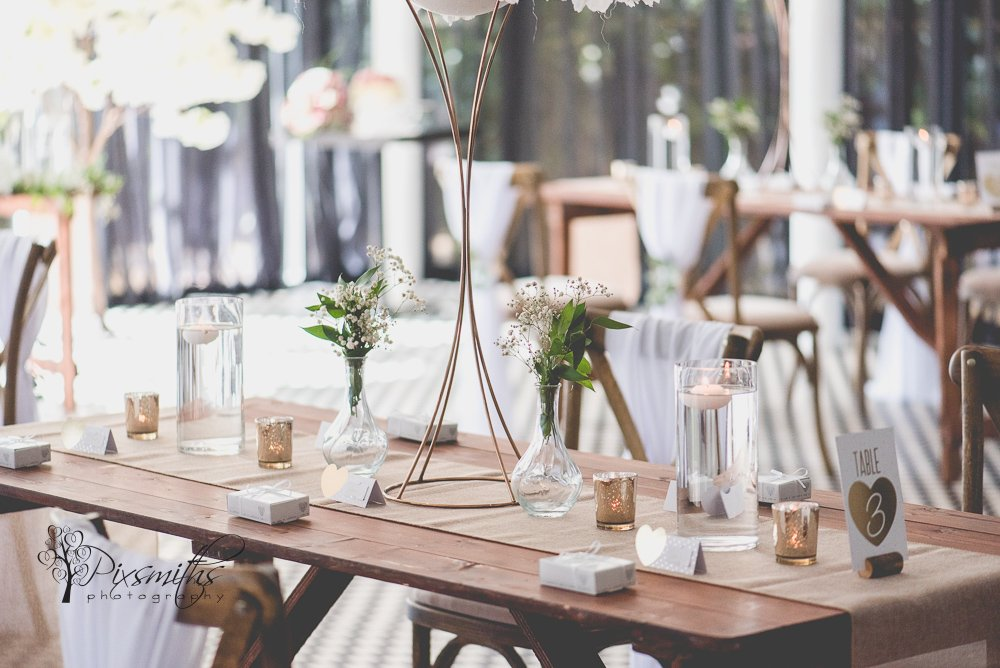 elegant decor by elegant event designs and Wirral table and Chair hire