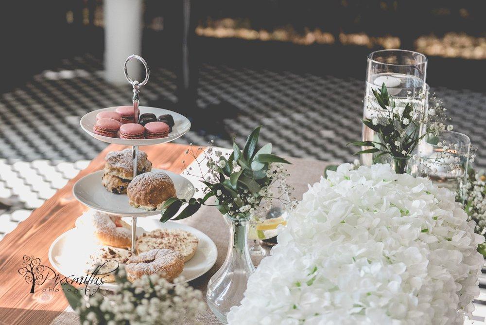 wedding afternoon tea King Gap by Wildes