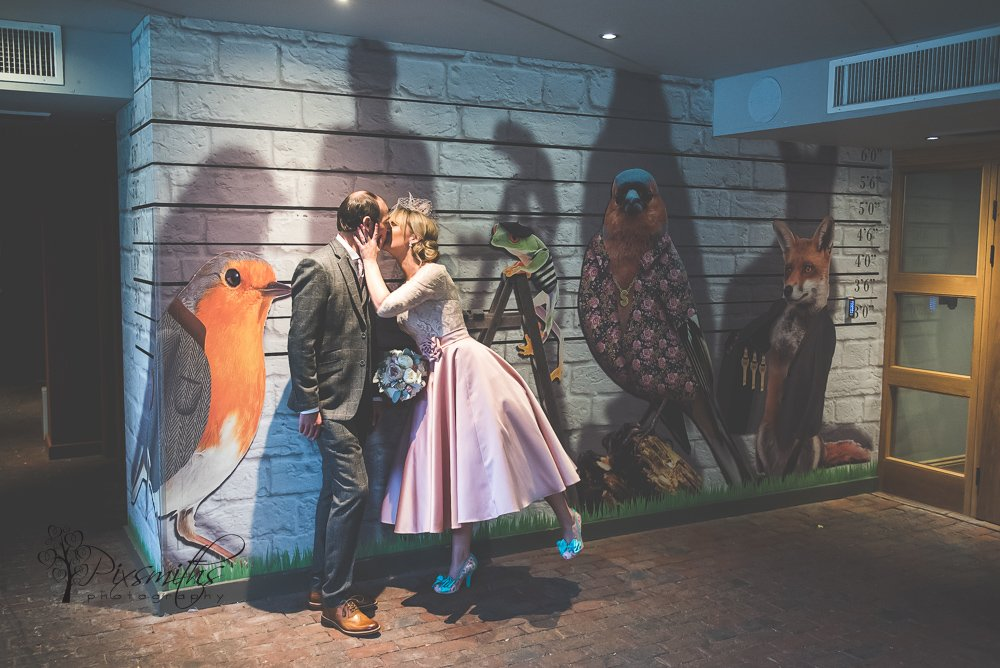 secret garden Chester wedding oddfellows