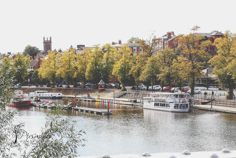 River Dee Chester scene